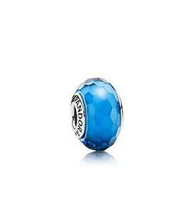 Charm Pandora Murano Faceteado Azul