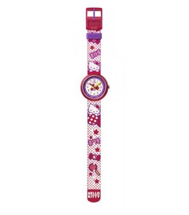 Reloj Flik Flak Hello Kitty Sugar Wolrd