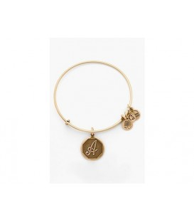 Pulsera Alex and Ani Letra A Oro