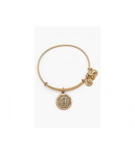 Pulsera Alex and Ani Letra F Oro