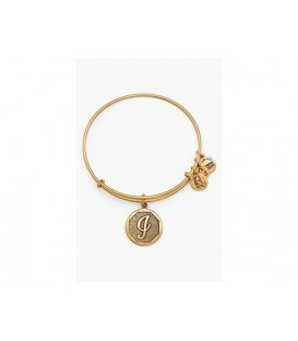 Pulsera Alex and Ani Letra I Oro