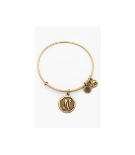 Pulsera Alex and Ani Letra N Oro