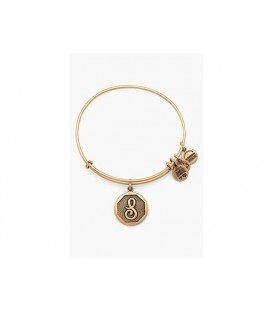 Pulsera Alex and Ani Letra S Oro