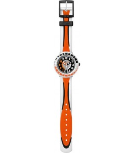Reloj Flik Flak All Around Black and Orange
