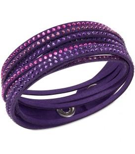 pulsera swarovski slake purple. Black Bedroom Furniture Sets. Home Design Ideas