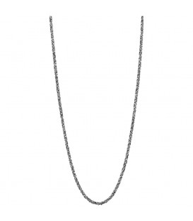 Necklace Destello plata 80cm