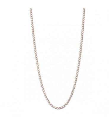 Necklace gracia rodio oro rosa 80cm