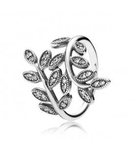 Anillo Pandora Shimmering Leaves