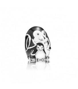 Abalorio Pandora Familia de Pingüinos