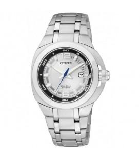 Reloj Citizen EcoDrive Super Titanium Tic Tac Mujer