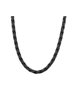 Cordon de cuero black