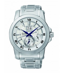 Reloj Seiko Premier kinetic Decantador Hombre