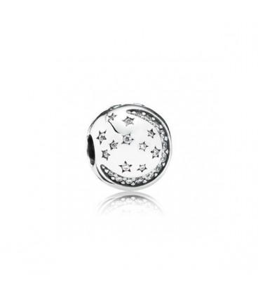 Abalorio Pandora Luna y Estrellas