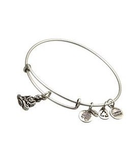 Pulsera Alex and Ani Buda Silver