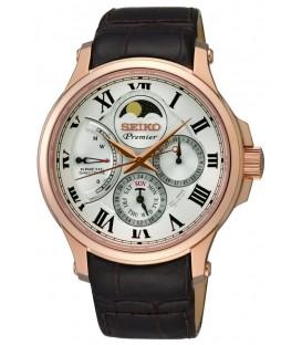 Reloj Seiko Premier Kinetic direct drive fase lunar