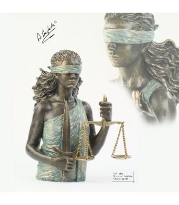 Escultura Justicia