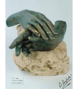 Escultura Unión