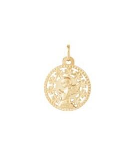 Medalla de oro ángel
