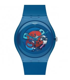 Reloj Swatch Blue Grey Lacquered