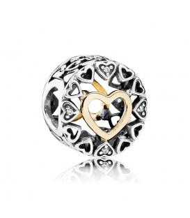 Abalorio Pandora círculo del amor