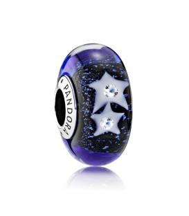 Murano Pandora Cristal Cielo Estrellado