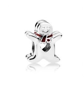 Abalorio Pandora dulce muñeco navideño