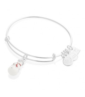 Pulsera alex and ani muñeco de nieve