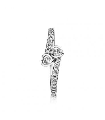 anillo de pandora corazones