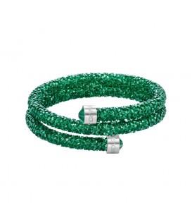 Pulsera Swarovski Crystaldust Verde