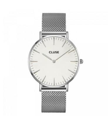 Reloj Cluse La Bohème Mesh Silver