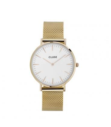 Reloj Cluse La Bohème Mesh Gold