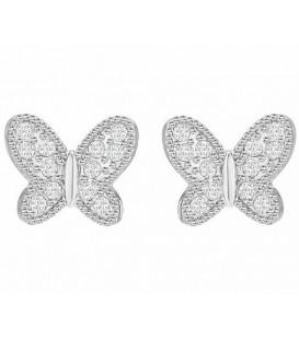 Pendientes Swarovski mariposas