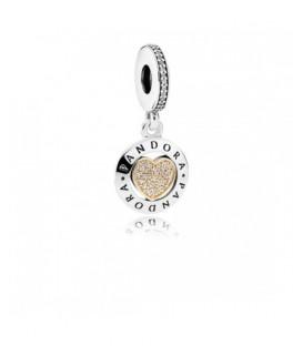 Charm Pandora corazón logo
