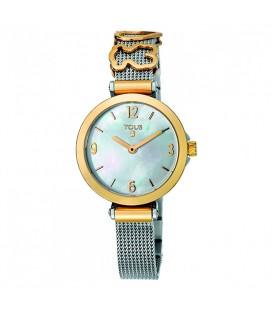 Reloj Tous Icon Charms de acero dorado con nácar