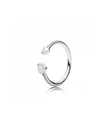 anillo pandora corazones