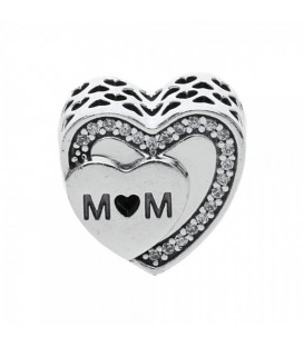 Abalorio Pandora Corazón Mum