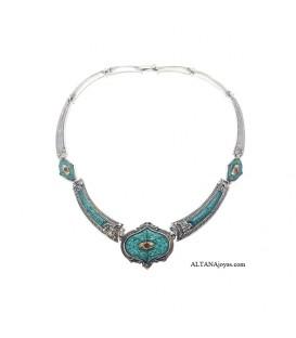 Collar Altana Etrusco Plata 11C0189