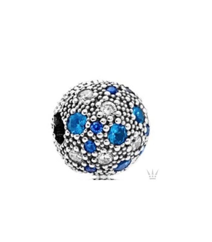 abalorios pandora azules