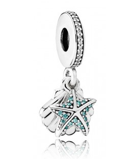 Abalorio Colgante Pandora Estrella de Mar Tropical y Concha