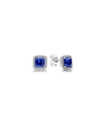 Pendientes de Pandora Elegancia Atemporal Azul