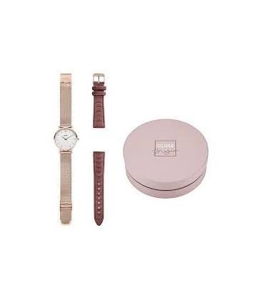 Reloj Cluse GOLD MESH/PINK VELVET