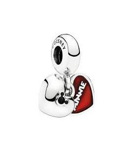Abalorio colgante Mickey & Minnie