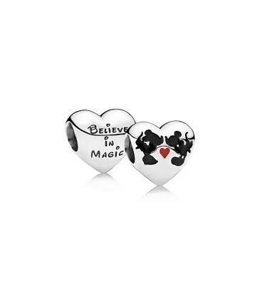 Abalorio Beso de Mickey & Minnie