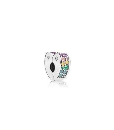 Clip Pandora Arco de Amor Multicolor