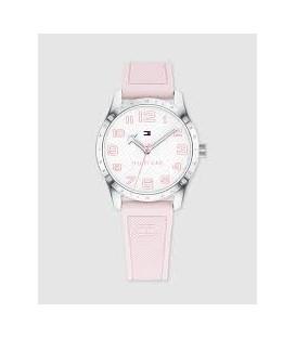 Reloj cadete Tommy Hilfiger de silicona rosa