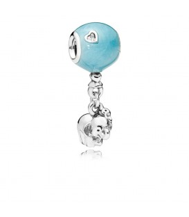 Abalorio Pandora elefante y globo azul