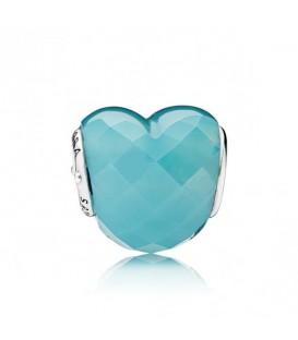 Forma de amor azul
