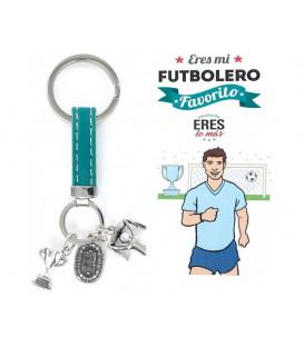 Lavero futbolero plata y piel 9109139