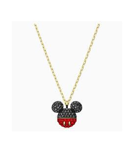 Colgante Mickey negro baño oro 5559176