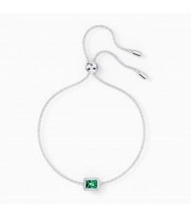 Pulsera Angelic rectangular verde Swarovski 5559836